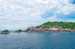 Isla en Tailandia meridional. Foto de archivo