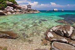 Isla en Tailandia meridional. Foto de archivo libre de regalías