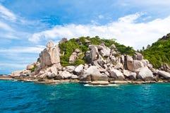 Isla en Tailandia meridional. Fotografía de archivo libre de regalías