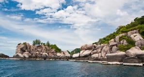 Isla en Tailandia meridional. Imagen de archivo