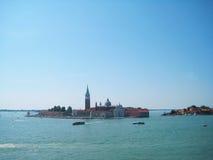 Isla en Venecia Fotografía de archivo libre de regalías