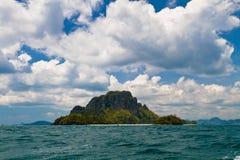 Isla exótica grande Imagen de archivo libre de regalías