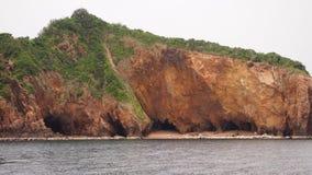Isla excavada Imagenes de archivo