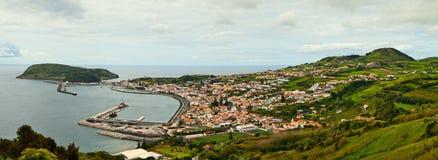 Isla Fayal, Azores Foto de archivo libre de regalías