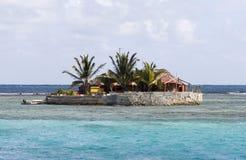 Isla feliz, isla de la unión, el Caribe del este. Foto de archivo