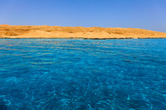 Isla Giftun Foto de archivo libre de regalías