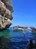 Isla Gigantes, Cales, Iloilo, Filipiny obraz stock