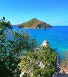 Isla Gigantes, Carlos, Iloilo, Filipinas foto de archivo