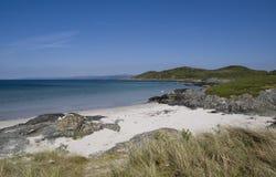 isla gigha пляжа стоковое фото