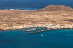 Isla Graciosa Stock Afbeeldingen