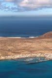 Isla Graciosa Fotografia Stock