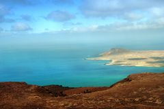 Isla Graciosa - Canary Island Royalty Free Stock Photo