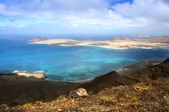 Isla Graciosa - Canary Island Stock Photos