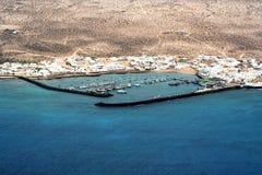 Isla graciosa, Lanzarote Stock Images