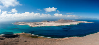 Isla Graciosa Stock Photo