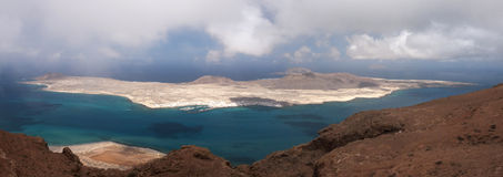 Isla Graciosa Lanzarote Canary Islands Royalty Free Stock Image