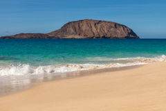Isla Graciosa Royalty Free Stock Images