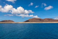 Isla Graciosa Royalty Free Stock Photo