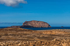 Isla Graciosa Royalty Free Stock Photography