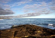 Isla grande, Hawaii Imagenes de archivo