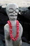 Isla grande Tiki Foto de archivo libre de regalías