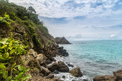 Isla Granito de Oro Royalty Free Stock Images