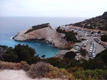 Isla Grecia de Oporto Katsiki Lefkas imagen de archivo libre de regalías