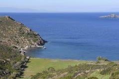 Isla Grecia de Patmos Fotografía de archivo libre de regalías