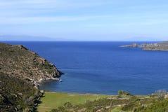 Isla Grecia de Patmos Imagen de archivo