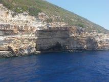 Isla Grecia de Paxos Foto de archivo libre de regalías