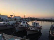 Isla griega Paros Imagen de archivo