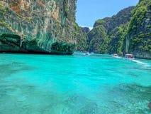 Isla hermosa de Phi Phi Leh Foto de archivo libre de regalías