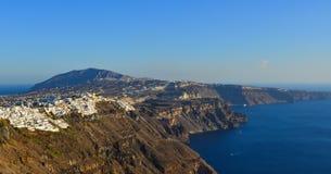 Isla hermosa de Santorini, Grecia fotos de archivo libres de regalías