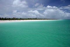 isla holbox пляжа Стоковые Фотографии RF