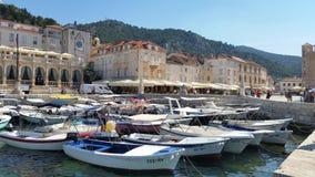 Isla Hvar Croacia Foto de archivo libre de regalías