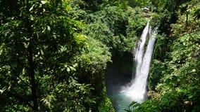 Isla Indonesia de Bali de la cascada Imagenes de archivo