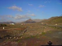 isla interior Fuerteventura Imágenes de archivo libres de regalías