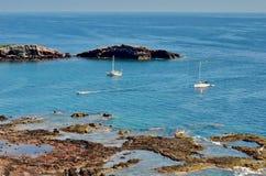 Isla Isabel fuori dalla costa di Mexico's Riviera Nayarit Immagine Stock