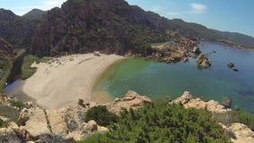 Isla Italia de Costa Paradiso Sardinia de la playa de Li Cossi