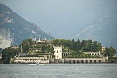 Isla Italia de Isola Bella Imagenes de archivo