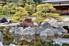 Isla japonesa del jardín Imagen de archivo