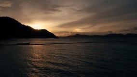 Isla KO-HE en Tailandia, tirando de un quadrocopter Foto de archivo