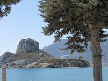 Isla Kos de Kastri Imagen de archivo libre de regalías