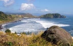 Isla Kunashir imagen de archivo libre de regalías