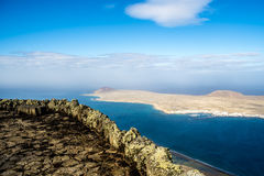 Isla la Graciosa in Canary Islands Stock Image