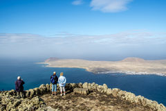 Isla la Graciosa in Canary Islands Royalty Free Stock Images