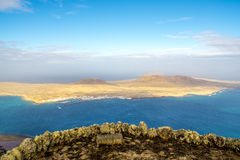 Isla la Graciosa in Canary Islands Royalty Free Stock Photography
