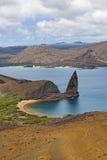 Isla las Islas Gal3apagos de Bartolome Foto de archivo