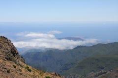 Isla Madiera. Las fusiones del cielo con el océano Foto de archivo