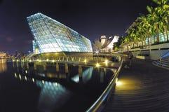 Isla Maison de Louis Vuitton en las arenas de la bahía del puerto deportivo Fotografía de archivo